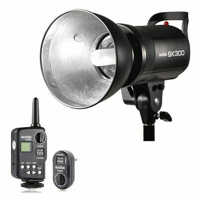 Godox SK300 300w GN58 Photo Studio Strobe Flash Light Head Trigger Kit 110V