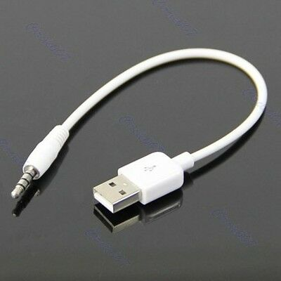 3.5mm USB Daten Sync Ladekabel Adapter für Apple iPod shuffle 2. Generation