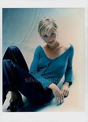 Orig 1990's CAMERON DIAZ Dreamy in Blue.. Anna Molinar - Anna Sui FASHION