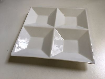 "Restaurant or Cafe 9.25"" Four Square Serving Plate (YA1054)"
