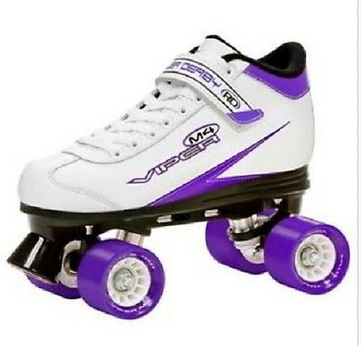 RDS Viper M4, Mens, Womens, Girls, Quad Speed Skates US Ladies Size 8