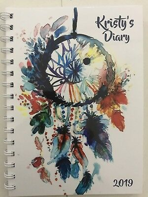 2018 diary personalized beautiful dreamcatcher A5