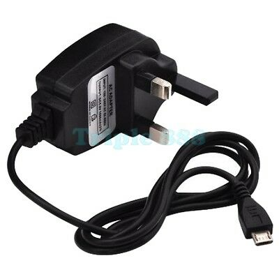 UK 3 Pin Mains Wall AC Charger Adapter for Acer Iconia One 8 Inch B1-820 Tablet