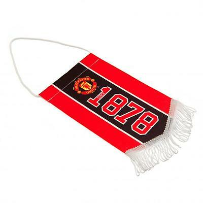 Manchester United FC Mini Pennant - Great for Car Display!