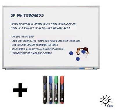 90 cm An der Wand montiertes magnetisches Business Whiteboard Notiztafel 60