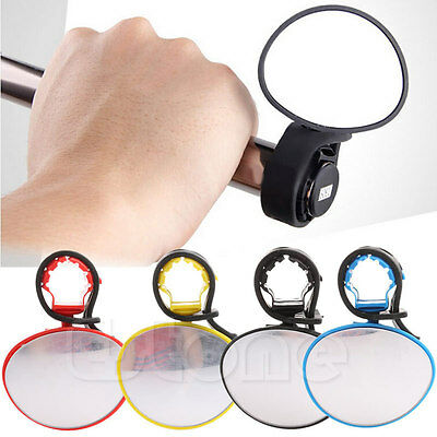Cycling Bike Bicycle Rear View Handlebar Rearview Mirror Safety Flexible New
