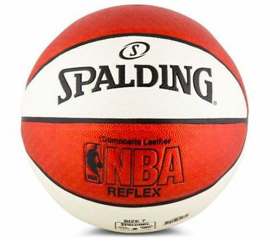 SPALDING NBA Reflex Composite Leather Basketball - Size 7 - New