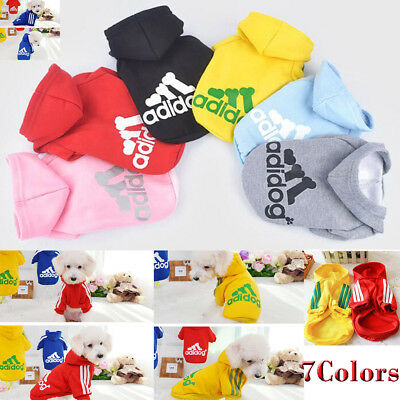 Pet Dog Cat Hoody Sweater Hoodie Coat Puppy Casual Shirt Jacket Clothes Apparel