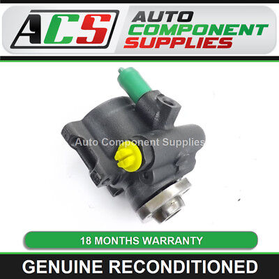 Vw Golf Mk4 Power Steering Pump 1997 To 2005 - Genuine Reconditioned