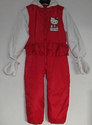 Girls Hello Kitty Padded Suit Size 7-8 Years