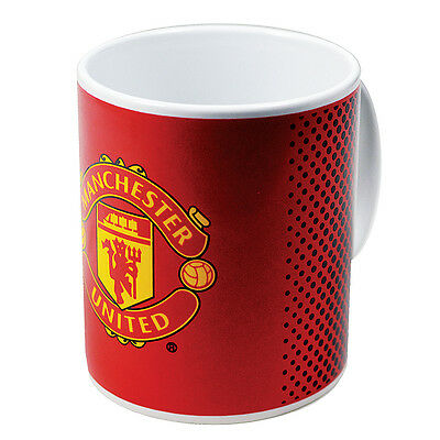 Manchester United Fc New Fade Design Ceramic Tea Coffee Mug Cup Xmas Gift