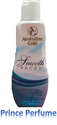 AUSTRALIAN GOLD SMOOTH FACES HYPOALLERGENIC DARK TANNING LOTION - 120 ml