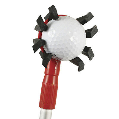 SoftSpikes Black Widow Golf Ball Retriever Extendable to 3.5m
