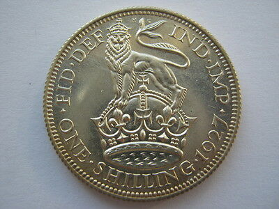 1927 George V silver Proof Shilling