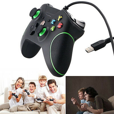 DOBE for XBOX ONE and PC USB Wired Controller Gamepad Joypad w/ Dual Vibration
