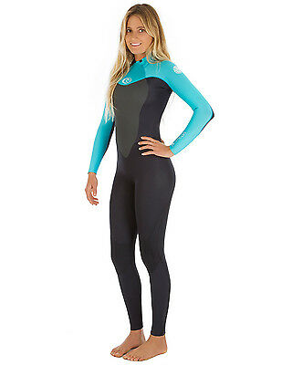 Rip Curl Omega Ladies 5/4mm Wetsuit (2017) in Turquoise