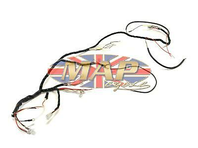 Triumph 1969-70 T100 T120 TR6 UK-Made Quality Wiring Harness H027