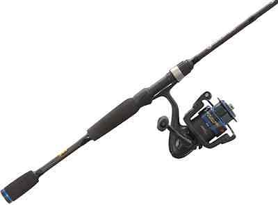 Lew's AH2060M-2 American Hero 2Piece Spinning 6' Rod/Reel Combo Right Hand 6.2:1