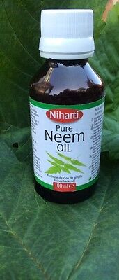 Pure Neem Oil 100ml   LIMITED OFFER  Latest Stock- Buy 3 we will send out 4