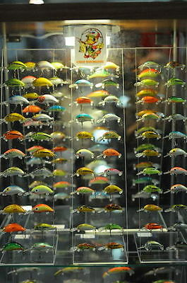 Lot of 70 NIB Ugly Duckling Top Quality Balsa Wood Lures,All Differnet+FREE GIFT