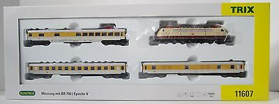 Minitrix 11607 Measurement Train w/ Br 750 Electric Loco Tested Trix Märklin