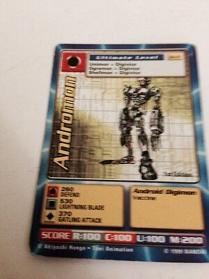 Andromon Digimon Card