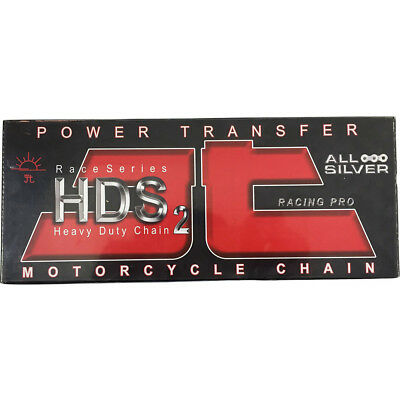 NEW JT Sprockets MX 520 HDS Ultimate Competition Silver 120L Motorbike Chain