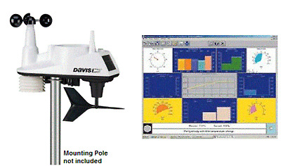 Davis Vantage Vue Wireless Weather Station with MAC OS Data Logger Software - IC