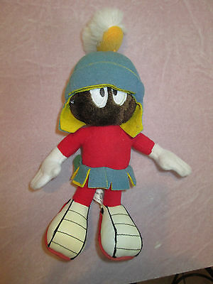 "Vintage Marvin the Martian Warner Bros Plush Character Stuffed 10"" Doll"