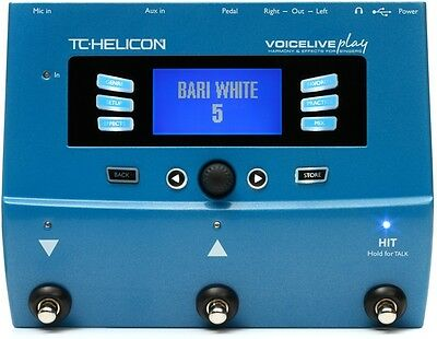 TC Helicon VoiceLive Play Vocal Floor Processor