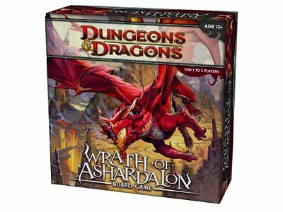 DnD Wrath Of Ashardalon, 1-5Players Ages12+ Plastic, 5Figures 41Tiles Rulebook