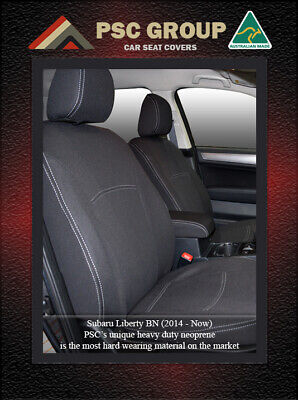 Seat Cover fits Subaru Liberty Front(FB + MP) 100% Waterproof Premium Neoprene