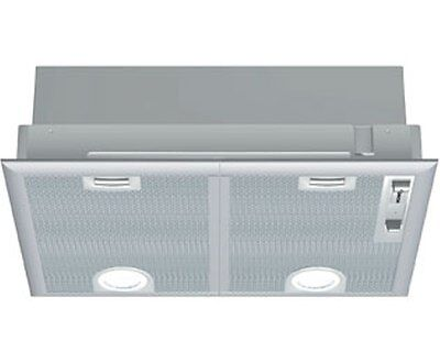 Bosch Serie 4 DHL555BGB Silver Grey Twin Motor Extractor Kitchen Cooker Hood