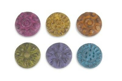Miniature Dollhouse FAIRY GARDEN - Stepping Stones Set of 6 - Accessories