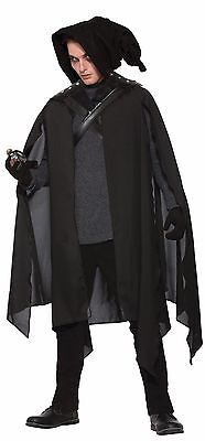 Wizard Magician Warlock Cape Druid Male #Halloween Costume One Size
