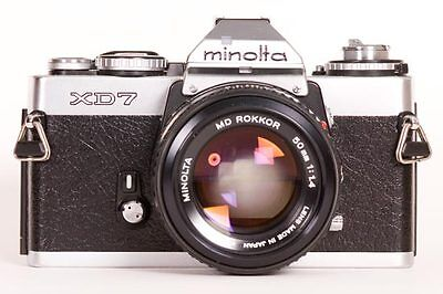 Cameracover in GENUINE LEATHER for MINOLTA XD7/XD11/XD5