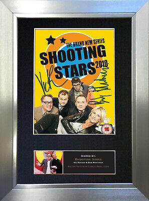 SHOOTING STARS Mortimer Reeves Signed Autograph Mounted Repro Photo A4 no490