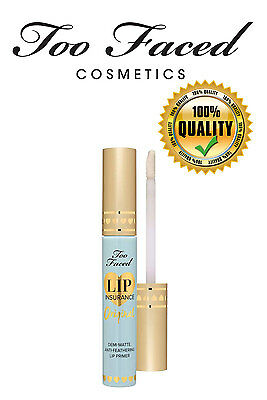 Too Faced Lip Insurance Original anti-feathering primer 4.46g MADE IN USA!