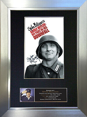 SPIKE MILLIGAN Signed Autograph Mounted Reproduction Photo A4 Print no379