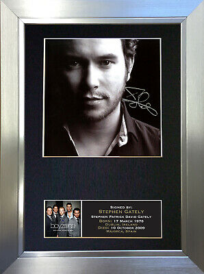 STEPHEN GATELY Signed Autograph Mounted Photo Repro A4 Print 89