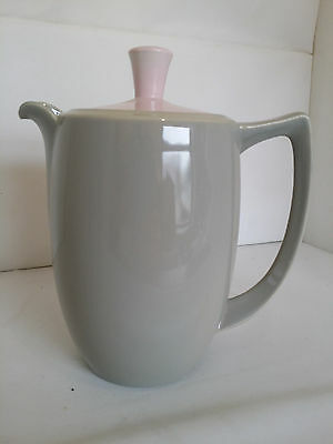 Branksome China, Elephant Grey & Blossom Pink Small Coffee Pot