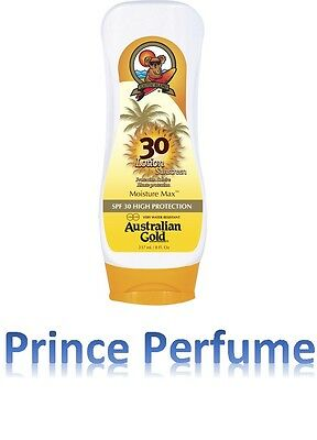 AUSTRALIAN GOLD SPF 30 HIGH PROTECTION LOTION SUNSCREEN MOISTURE MAX - 237 ml