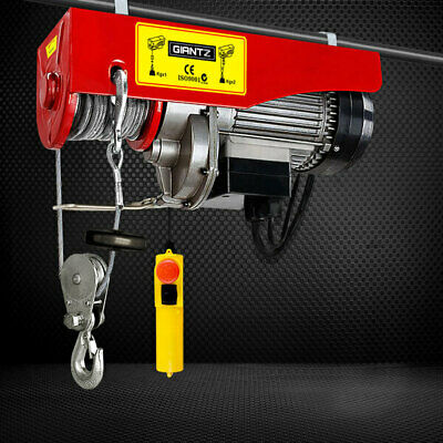 1300W Electric Hoist Winch Lifting Cable