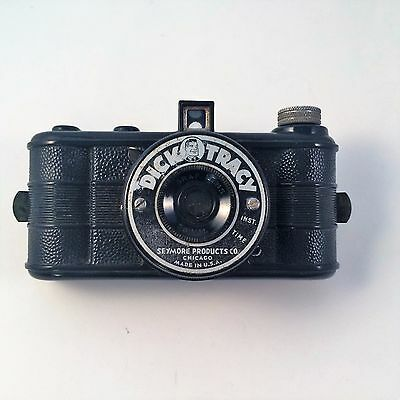 Dick Tracy Bakelite Camera Seymore Products Chicago Graf lens 50 mm USA VTG
