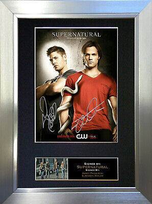 SUPERNATURAL Signed Autograph Mounted Reproduction Photo A4 Print 136