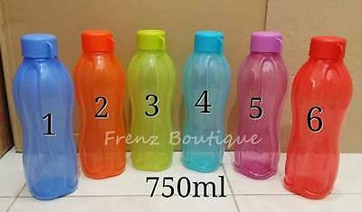 Tupperware Aqua Safe 750 ml Flip Top Water Bottle 25 Oz - 100% ORIGINAL | 1 UNIT