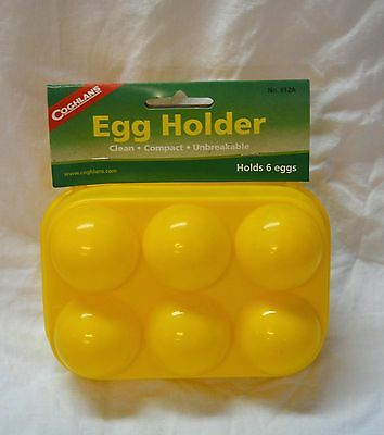 Coghlan's 6 count egg holder yellow # 812a ( store bte#14 )