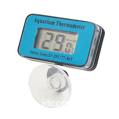 Digital LCD Waterproof Fish Aquarium Water Tank Temperature Thermometer Meter AV