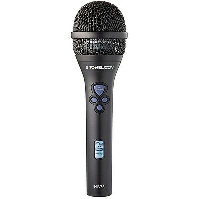 TC Helicon MP-76 Vocal Microphone with Advanced Control VoiceLive VoiceTone