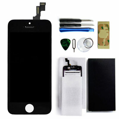 Black LCD Display + Touch Screen Digitizer Assembly Replacement for iPhone 5S